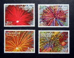 Thailand Stamp 2011 New Year - Firework - Thailand