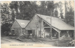 SAINT AMAND EN PUISAYE (58) Bois Vue Extérieure De La Scierie - Saint-Amand-en-Puisaye