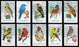Etats-Unis / United States (Scott No.4882-91 - Oiseaux Américains / American Birds)+ (o) Set - Used Stamps