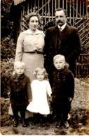 Familienfoto Mit Kindern Ca 1940 - Fotografie