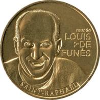 83 SAINT RAPHAËL LOUIS DE FUNES MÉDAILLE SOUVENIR MONNAIE DE PARIS 2019 JETON MEDALS COINS TOKENS - 2019