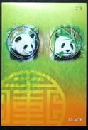 Thailand Stamp SS 2005 30th Ann Of The Diplomatic Relation Thai - China (Panda) - Thailand