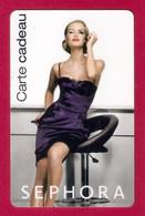 Carte Cadeau. Parfumerie SEPHORA. Gift Card. Geschenkkarte. - Cartes Cadeaux