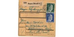 Allemagne  - Colis Postal  - Départ Hagen   - 7-12-42 - Allemagne