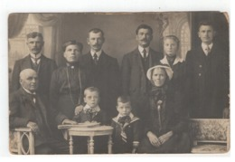Vosselaar Familie Proost-Jacobin (1915) Tijdens Oorlog 1914-1918 Fotokaart - Vosselaar