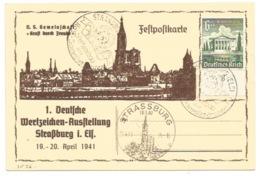 SK36 - STRASSBURG - WERBESCHAU  - 1941 - - Alsace-Lorraine