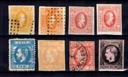Roumanie Huit Classiques Neufs Et Oblitérés 1865/1872. Bonnes Valeurs. B/TB. A Saisir! - 1858-1880 Moldavie & Principauté