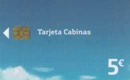 09/18 + 03/19    Two Last Spain Phonecard 5€. Tarjeta Cabinas España - España