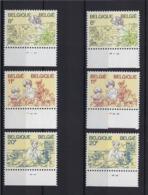 N°2086/2088 (pltn°set) MNH ** POSTFRIS ZONDER SCHARNIER SUPERBE - 1981-1990