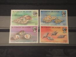 VIRGIN - 1974 CONCHIGLIE 4 VALORI -  NUOVI(++) - British Virgin Islands