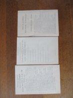 LANDRECIES ELECTIONS MUNICIPALES DU 3 MAI 1908 CANDIDATS REPUBLICAINS,REPUBLICAINS LIBERAUX,REPUBLICAINS DEMOCRATES - Historische Dokumente