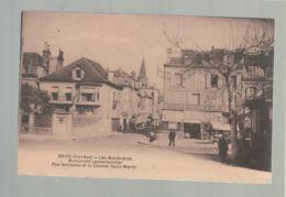 CP - 19 - Brive - Boulevards - Monument Lecherbonnier - Rue Gambetta - Brive La Gaillarde