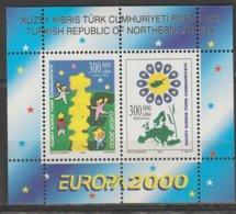 Turquie Adm. Chypre Europa 2000 BF N° 18 ** - Europa-CEPT