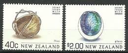 New Zealand 2002 Mi 1985+1991 MNH ( LZS7 NZL1985+1991dav144B ) - Non Classificati