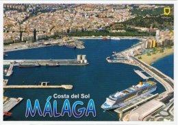 Paquebot Piroscafo Cruise Ship Costa Luminosa In Malaga. - Steamers