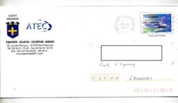 Pap Tgv Flamme Muette Chalons Entete Atec Saint Memmie - Prêts-à-poster:  Autres (1995-...)