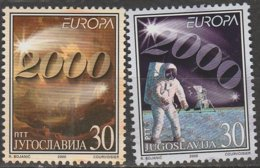 Yougoslavie Europa 2000 N° 2822/ 2823 ** - 2000