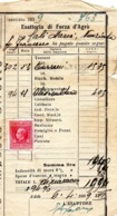 ITALIE. 1939. Documento Con Marca Da Bollo. - 1900-44 Victor Emmanuel III.