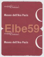 Roma, 2018, Museo Dell'Ara Pacis, Mostra Hokusai, 2 Biglietti Di Ingresso - Biglietti D'ingresso