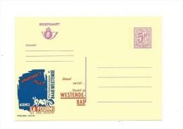 Publibel Neuve  N° 2672 ( Agence LA FOURMI, Westende-Bad) - Stamped Stationery