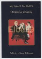 Italia, Cartolina Pubblicitaria, Sellerio Editore, Maj Sjöwall, Per Wahlöö, Omicidio Al Savoy, Palermo - Pubblicitari