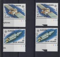 N°2406/2407 (pltn°set) MNH ** POSTFRIS ZONDER SCHARNIER COB € 10,50 SUPERBE - Plate Numbers