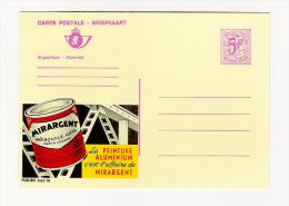 Publibel Neuve N°  2662 (MIRARGENT, Peinture Aluminium) - Stamped Stationery