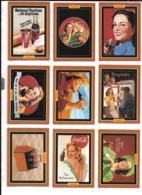 AD35 - SERIE COMPLETE 100 TRADING COLLECT A CARD - COCA COLA 3rd SERIES - Autres Jeux De Cartes