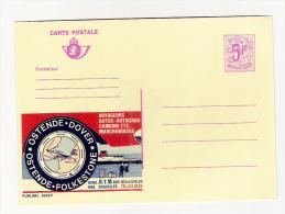 Publibel Neuve N°  2666 (Ostende-Dover) - Stamped Stationery
