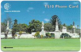 Tonga - Royal Tombs, 323CTGC, 1999, 12.000ex, Used - Tonga