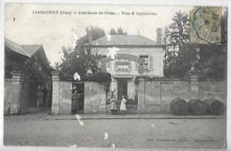 CPA  LIANCOURT OISE Distillerie - Liancourt