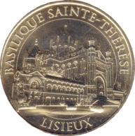 14 LISIEUX BASILIQUE SAINTE THÉRÈSE MÉDAILLE SOUVENIR MONNAIE DE PARIS 2019 JETON MEDALS TOKENS COINS - 2019