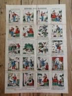 IMAGERIE NOUVELLE - PLANCHE N° 93 - HISTOIRE D'UN HANNETON - Alte Papiere