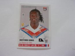 PANINI Foot 2013 -14 N°189 Olympique Lyonnais OL Bafétimbi Gomis - Edition Française