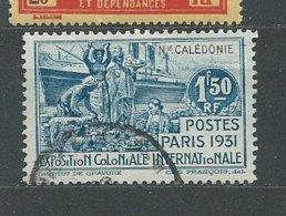 NOUVELLE-CALEDONIE  N°  165 OB TB - Nueva Caledonia