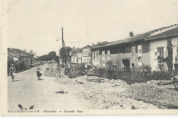 Maiziéres Les Vic  Grande Rue - France