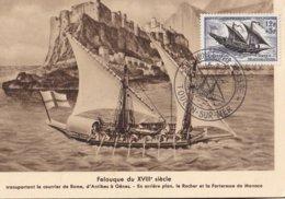 FRANCE - Carte-Maximum FDC - Journée Du Timbre 1957 - Cartes-Maximum