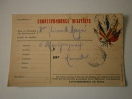 Correspondance Militaire (A6p31) - Oorlog 1914-18