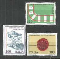 Italy 1981 Mint MNH(**) Stamps  Michel # 1784-86 - 6. 1946-.. Republic