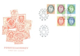 Norway 1992; FDC Michel 1107-1111, Definitives. - FDC