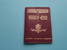 PASSEPORT - PASPOORT - REISEPASS - PASSPORT ( Belgique ) Carlier 1910 ( Zie Foto's Details ) 1995 ! - Vecchi Documenti