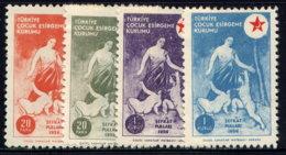 TURKEY, NO.'S RA188-RA191, MH - 1921-... Republic