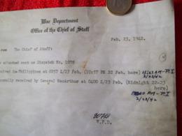Document Américain 1942 - 1939-45