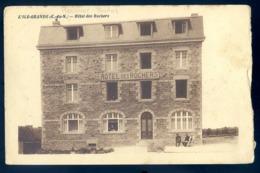 Cpa Du 22  L' Ile Grande Hôtel Des Rochers   à   Pleumeur Bodou   LZ103 - Pleumeur-Bodou