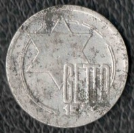 5 Mark Ghetto Juif De LODZ 1943 - Originale - Pologne
