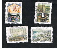 SUD AFRICA (SOUTH AFRICA) - SG 729.732 - 1991 SCIENTIIFIC & TECHNOLOGICAL ACHIEVEMENTS (COMPLET SET OF 4)  - USED - Usati