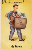 [27] Eure > Gisors Carte A Systeme Facteur V'la Courrier ! - Gisors