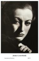 JOAN CRAWFORD - Film Star Pin Up PHOTO POSTCARD - 24-137 Swiftsure Postcard - Artistas