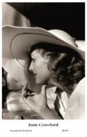 JOAN CRAWFORD - Film Star Pin Up PHOTO POSTCARD - 24-143 Swiftsure Postcard - Artistas