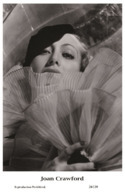JOAN CRAWFORD - Film Star Pin Up PHOTO POSTCARD - 24-139 Swiftsure Postcard - Artistas